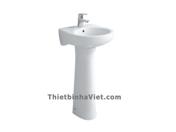 Chậu Rửa mặt Inax L-284V+L-284VD