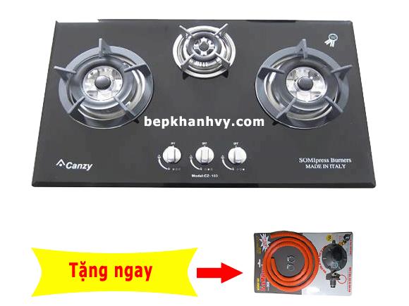 Bếp gas âm Canzy CZ-368